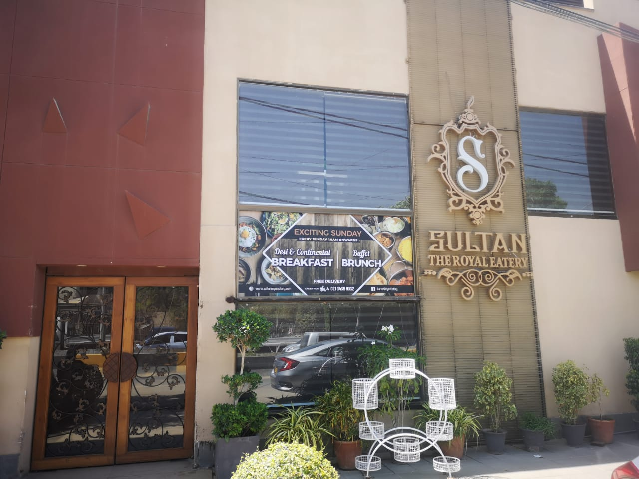 Sultan The Royal Eatery Exterior