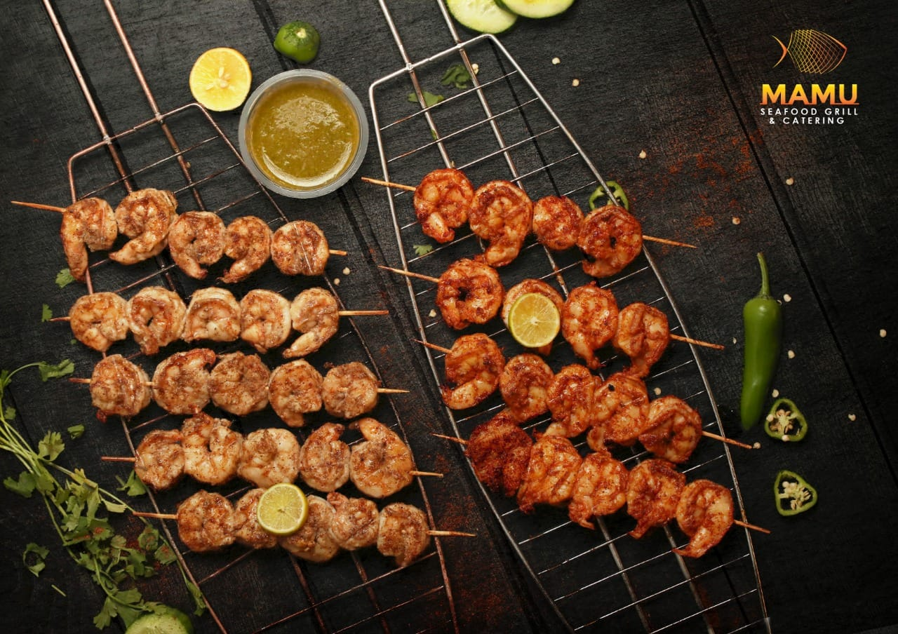 Spicy prawns for Karachi Eat 2020
