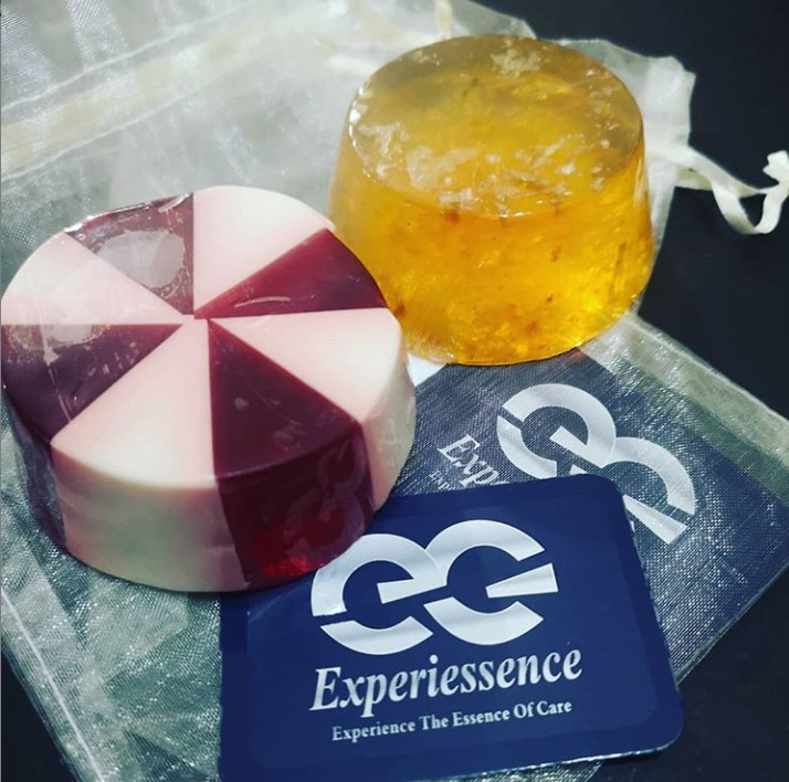 Experiessence organic soaps